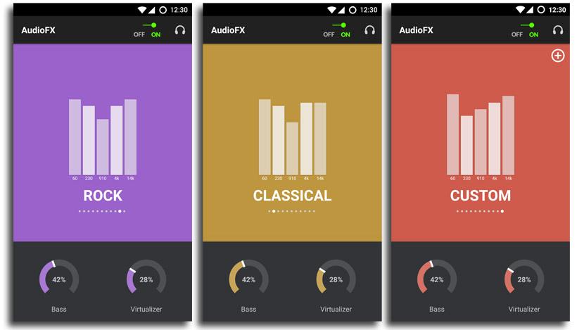 audio fx Cyanogen lanza las C Apps para usuarios con CyanogenMod