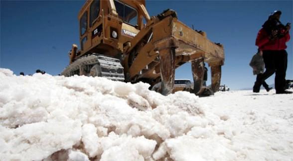 Salar de Uyuni, zona donde están las reservas de litio. -   APG Agencia