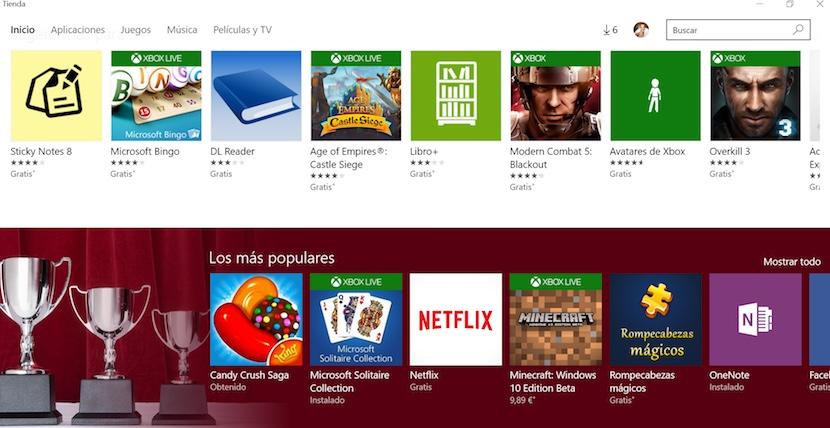 windows store Windows sube los precios de su tienda de aplicaciones