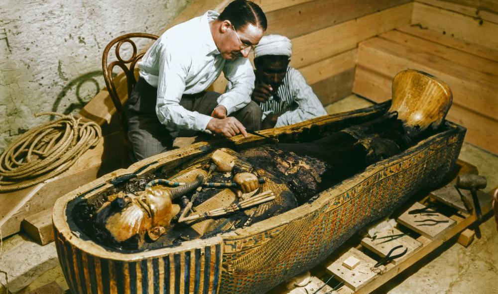 tumba de Tutankamón 5