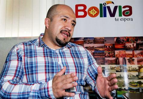 Ernesto Rossel Arteaga, viceministro de Turismo.