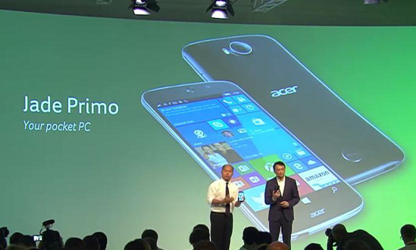 acer jade primo Vídeo del Acer Jade Primo utilizando Continumm
