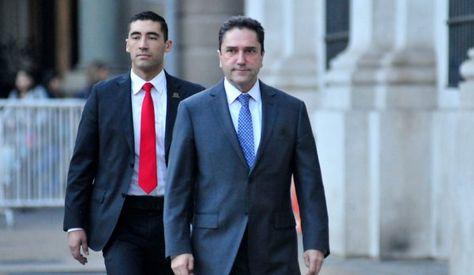 El ministro de Defensa, José Antonio Gómez. Foto: www.chilevision.cl