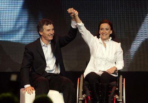 Gabriela Michetti. Foto: AFP