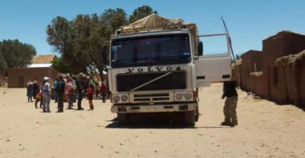 El hecho fue reportado por la Aduana Nacional de Bolivia, que considera el procedimiento una nueva estrategia del ilícito.