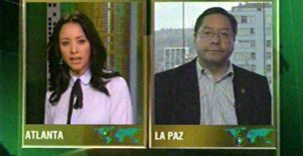 El ministro de Economía y Finanzas, Luis Arce Catacora, aseguró en entrevista con CNN que nunca fue asesor económico del gobierno venezolano