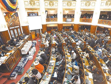 Tarea. Los legisladores de laCámara de Diputados (foto) designarán a vocales delTED.