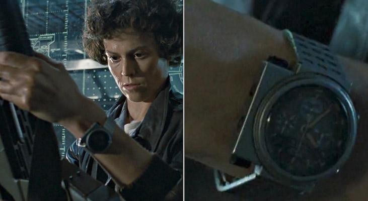 ripley reloj aliens Seiko relanzará de nuevo el reloj icónico de la Teniente Ripley de Aliens