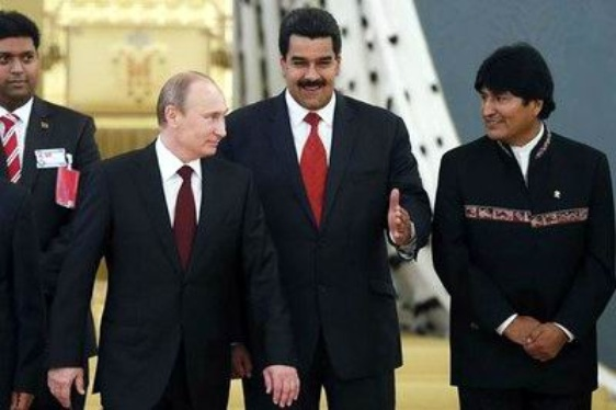 Maduro y Evo Morales solicitaron reunirse con Vladimir Putin en el Kremlin