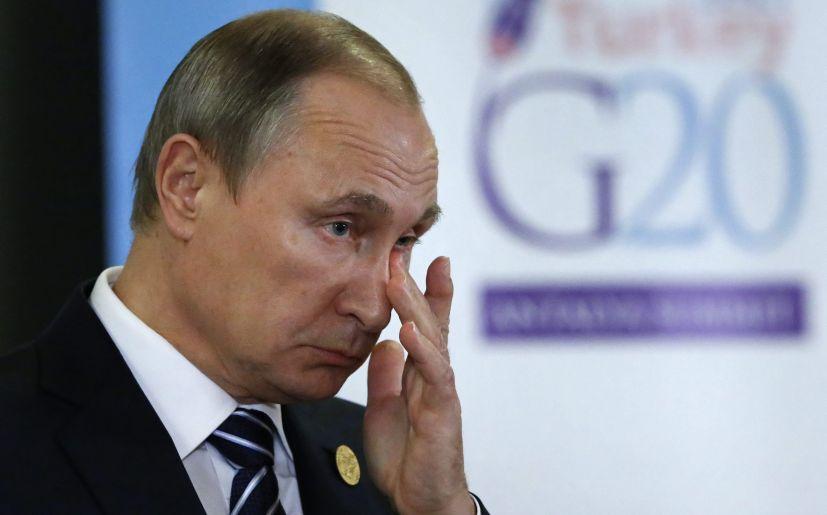 Vladimir Putin. (Foto: EFE)
