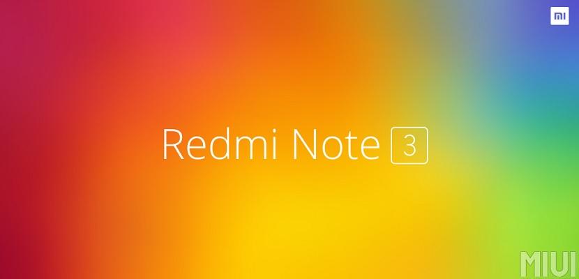 Xiaomi Redmi Note 3 El Xiaomi Redmi Note 3 ya es oficial y no sólo presume de precio sino también de diseño y especificaciones