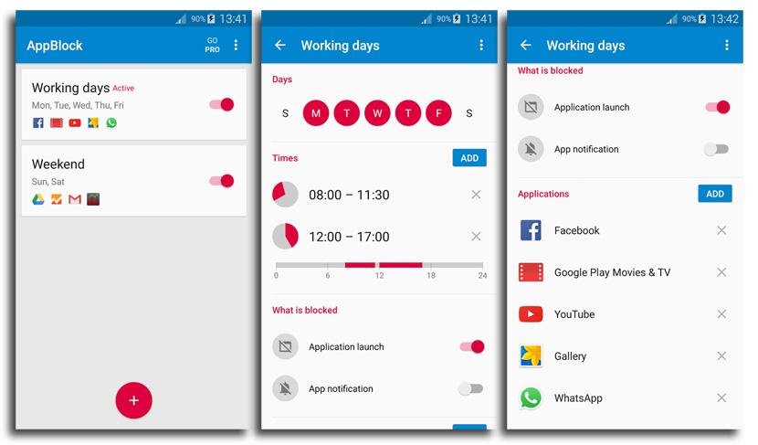 appblock android AppBlock cierra el paso a apps y notificaciones para que puedas trabajar sin interrupciones en Android