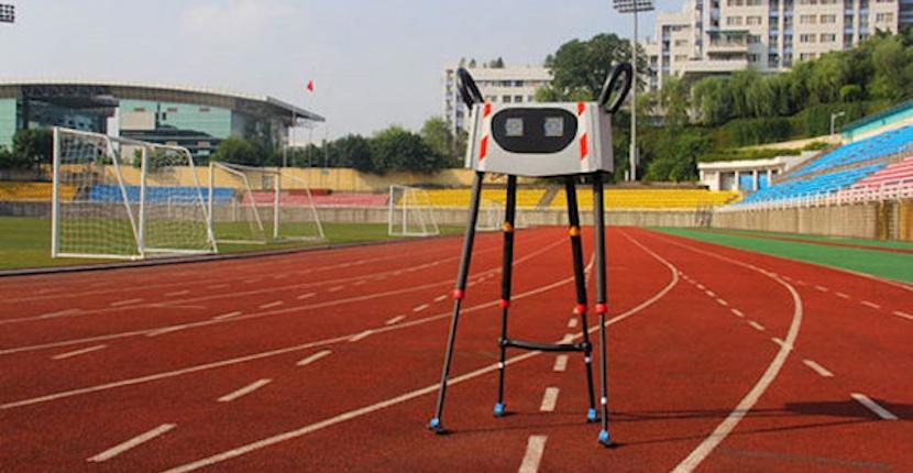 robot1 Xingzhe No.1, el robot que caminando superó todos los record