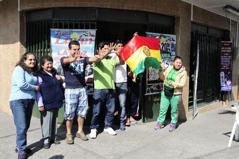Bolivianos en Iquique. Foto: adnradio.cl