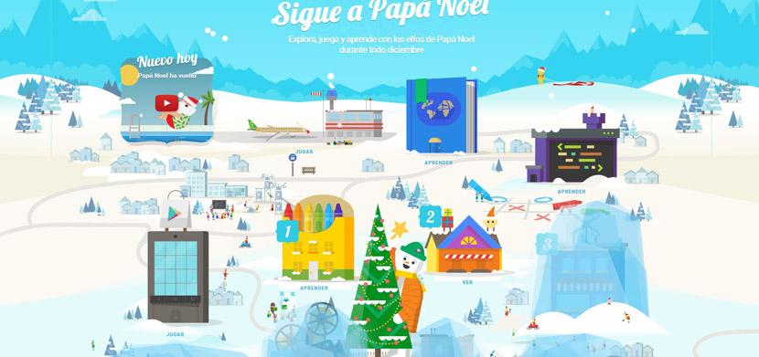 sigue a papa noel Google lanza Sigue a Papá Noel para que estas Navidades estén llenas de sorpresas todos los días
