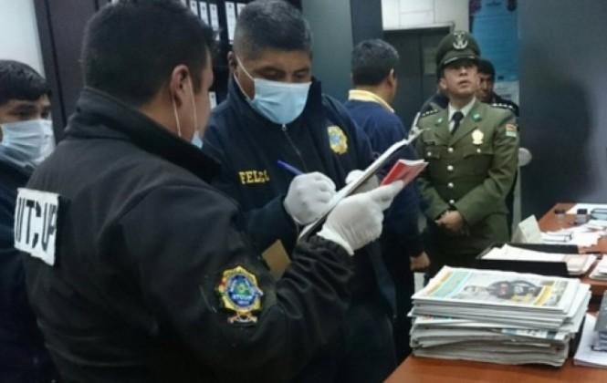 Felcc investiga denuncia de posible atentado con gas paralizante contra el senador Arturo Murillo