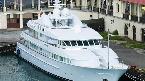 El yate de 33 millones de euros, regalo de Abramovich