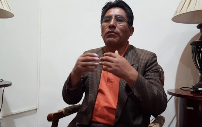 Patzi dice que el TCP le dio vía libre al Gobierno para hacer campaña con dinero de los bolivianos