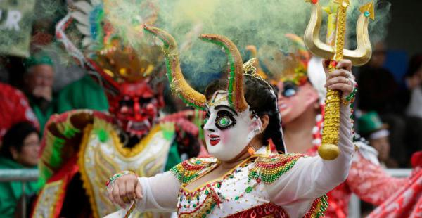 Las mejores fotos del espectacular Carnaval de Oruro
