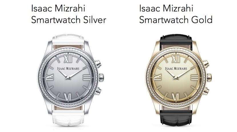 Isaac Mizrahi smartwatch hp 2 830x463 Isaac Mizrahi se alía con HP y Swarovski para lanzar un smartwatch para mujeres