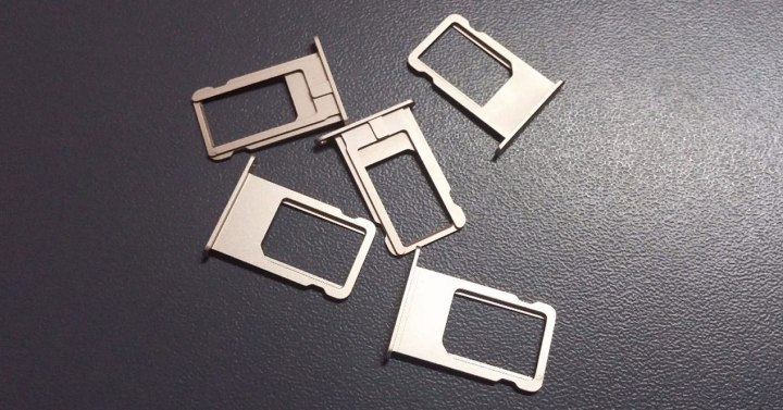bandejas SIM iPhone