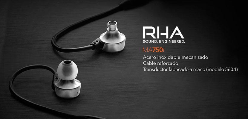 rha ma750i 01 830x401 Probamos los RHA MA750i, unos auriculares con acabados de calidad