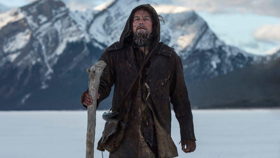 Su interpretación al límite del explorador Hugh Glass en 'El renacido' puede llevarle al Oscar.