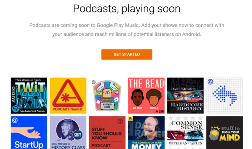 podcast google Los podcast llegarán también a Google