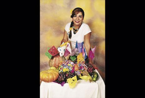 Roxana Iriarte - Presidenta de las churas comadres. Hace 45 años que vive en Santa Cruz y, a manera de recordar las tradiciones chapacas, organiza la fiesta de mujeres. Trae las canastas desde Tarija