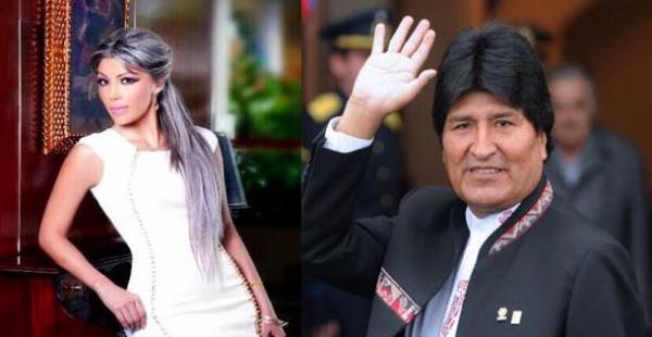 Vinculan a la empresaria Gabriela Zapata con el presidente Evo Morales