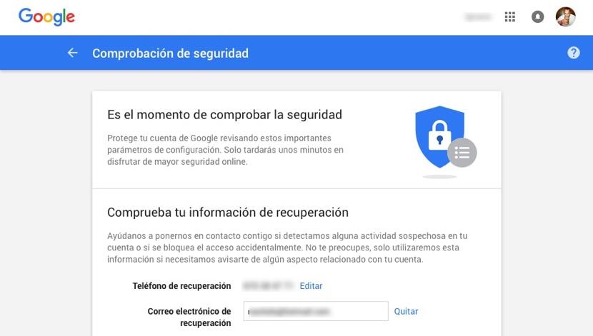 comprobaci%C3%B3n seguridad google drive Google Drive nos regala 2 GB de almacenamiento