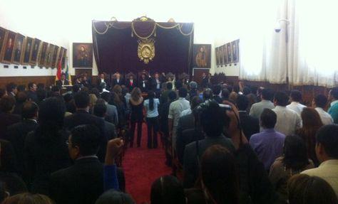 Acto de puesta en vigencia de los Código Morales