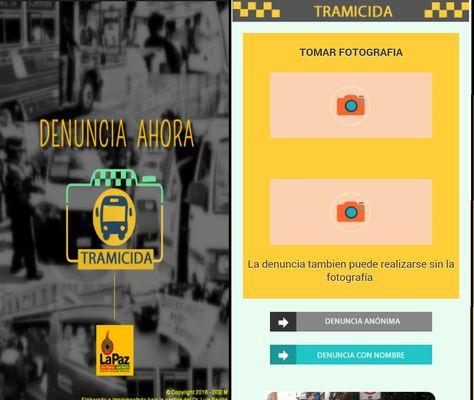 Ésta es la aplicación que está disponible para los usuarios que quieran hacer denuncias sobre el mal servicio de transporte