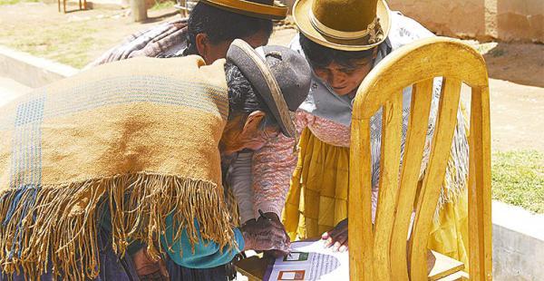 En áreas rurales se definen posiciones con miras al día del referéndum