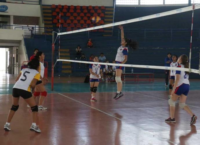Los partidos se disputaron en el coliseo Jorge Revilla Aldana.