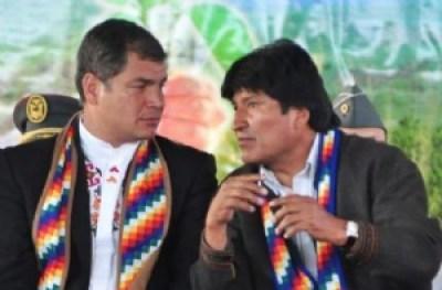 Correa defiende a Morales ante denuncias de tráfico de influencias