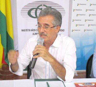 JULIO RODA, PRESIDENTE CAO SANTA CRUZ.