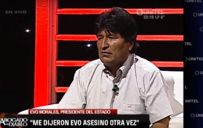 """Evo sobre Gabriela Zapata: """"Si fuera funcionaria del Gobierno, a la cárcel; pero no es funcionaria"""""""