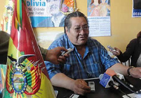 El dirigente Braulio Rocha