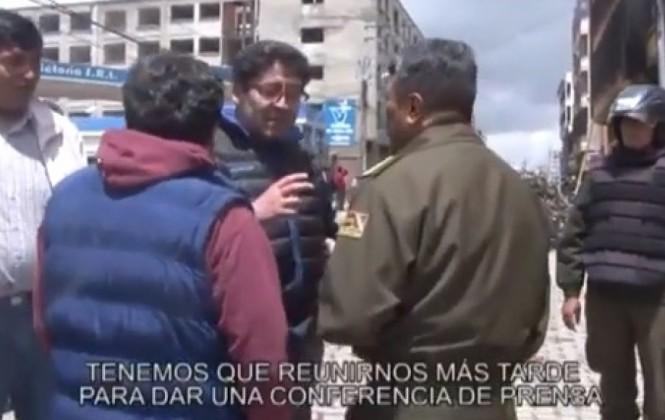 Murillo denuncia conspiración contra Chapetón y presenta un vídeo de Elío y Téllez