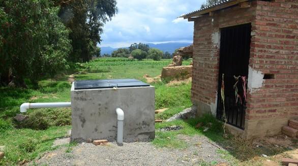 La perforación del pozo de la comunidad de Chilijchi, en Arani, fue abandonada. - Daniel  James Los Tiempos