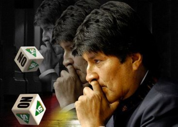 Bolivia define el futuro de Evo