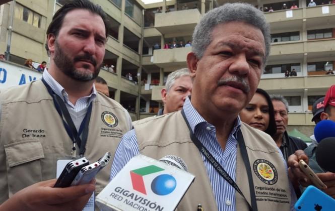 OEA dice que jornada electoral se desarrolló con