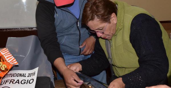 El trabajo del cómputo oficial de votos se sigue realizando en todo el país