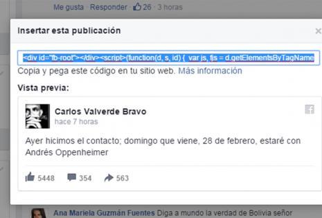Carlos Valverde Bravo en CNN