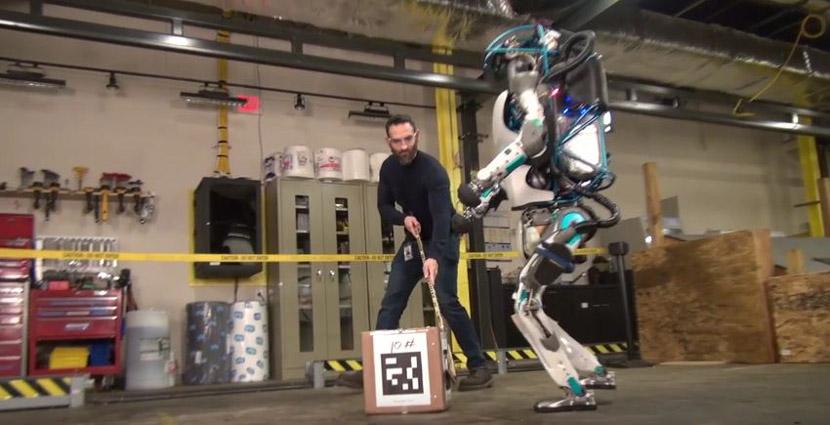 boston dynamics Boston Dynamics muestra la impresionante nueva generación del robot humanoide Atlas