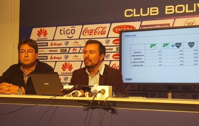 Bolívar presenta su sistema de venta de entradas para la Copa Libertadores