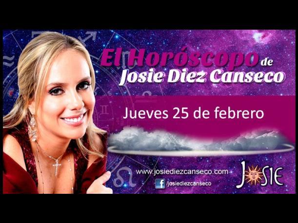 El horóscopo de Josie Diez Canseco del 25 de febrero. (Foto: Difusión)