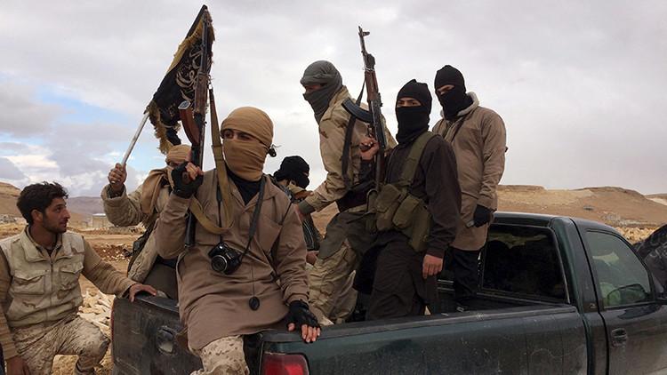 Los combatientes del Frente Al Nusra