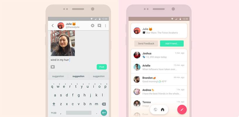 peach red social Los usuarios de Android tienen una nueva red social: Peach